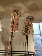 Antique Vintage Wayang Kulit Shadow Puppets Java Hand Made You Choose Which One