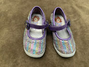 Disney Store Sofia The First Shoes Size 7 Girls