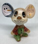 Fenton Winter/ Holiday Tan Mouse Smart Dressed And Designed By Kim Barley 14/19
