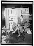 Photo Of Miss Mary Foley Artist At Dept. Of Ag. 1/5/26