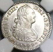 1799 Ngc Ms 63 Mexico 1 Real Colonial Spain Silver Coin Pop 4/1 20072002d