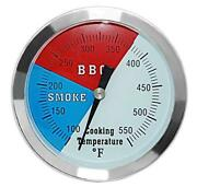 Dozyant 3 1/8 Inch Barbecue Charcoal Grill Smoker Temperature Gauge Pit Bbq