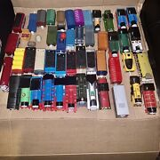 44 Piece Lot Thomas The Train And Friends Tomy Motorized Engines, Trailers, More