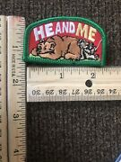 """Lot Of 13 New Patches Girl Scout """"he And Me"""" Fun Iron-on Patches"""