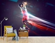 3d Play Basketball Zhua4785 Wallpaper Wall Murals Removable Self-adhesive Amy