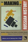 The Making Of Russian History Society Culture Steinberg Wade..