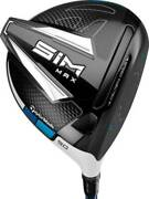 Brand New Taylormade Sim Max Driver 10.5 Degree Pick Your Stiffness And Side +hc