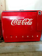 Coca Cola And039chest Typeand039 Electric Cooler By Cavalier