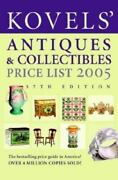 Kovelsand039 Antiques And Collectibles Price List 2005 Guide Book