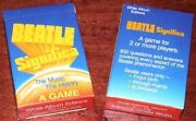 2 Beatles Card Game Beatle Significa Sealed Games Mib Vintage Old Store Stock