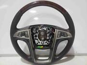 2010 Buick Lacrosse Cxl Steering Wheel W/ Wood Accents Comes W/ Cruise