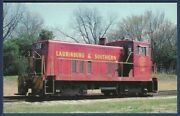 Laurinburg And Southern Ge 70 Ton Diesel Switcher Locomotive 104