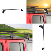 Fit For Jeep Wrangler Jl 2018-2020 Aluminum Alloy Car Roof Luggage Rack Decor