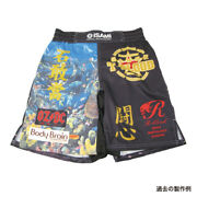 Isami Decal Battle Pants Wide From Japan Free Shipping Bto New Made In Japan