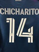 Adidas La Galaxy Away Chicharito 14 Jersey 2020 Navy Authentic Size M Men Only