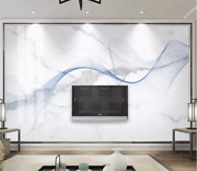 3d Blue Streamer Zhua6309 Wallpaper Wall Murals Removable Self-adhesive Amy