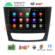 9and039and039 Android 10.1 Radio Stereo Gps Fit Mercedes W211 E-class W219 Cls W463 W209