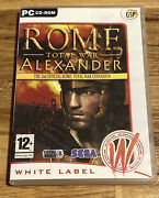 Rome Total War Alexander - The 2nd Official Total War Expansion Pc Cd-a19
