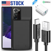 For Samsung Galaxy Note 20 Ultra 5g S20 Backup Battery Charging Power Bank Case