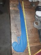 Vintage Bicycle Chain Guard--preowned--great Lines--unsure Of Application--rare