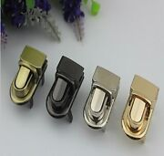 10pcs Luggage Hardware Die-casting Metal Twist Lock Mortise Replacement Parts