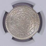 Ngc-ms63 1929 Syria 50piastres Silver Only One Finer Bu Luster