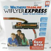 Ho Scale Bnsf Wiflyer Express Train Set W/dcc And Sound - Walthers 931-1250
