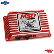 Msd 6al-2 Ignition Control Box With 2-step Limiter Red