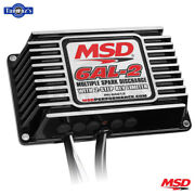 Msd 6al-2 Ignition Control Box With 2-step Limiter Black