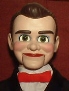 Haunted Ventriloquist Doll Eyes Follow You Creepy Dummy Puppet Oddity Toy