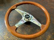 Momo Certo 370mm Wood Horn Button 1995 Steering Wheels Handle Jdm From Japan F/s