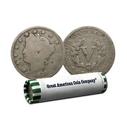 Roll Of 40 Liberty Nickels Cull Condition