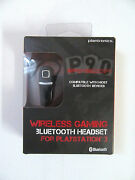 Plantronics Gamecom P90 Bluetooth Gaming And Mobile Ear-hook Headset For Ps3 New