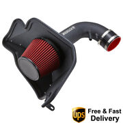 3.5and039and039 Cold Air Intake System Induction Kit For 2015-2017 Ford Mustang Gt 5.0l V8