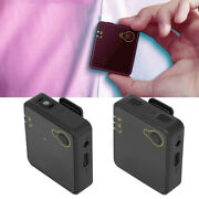 Mini Wireless Microphone 2.4g 360° Omnidirectional Condenser Noise Reduction