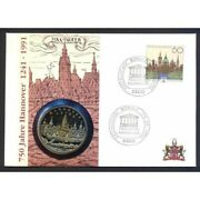 Numisbrief Coins And Stamp Country Of Europe H To R