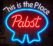 Pabst Neon Sign This Is The Place