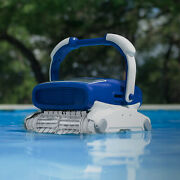 Aquabot Elite Pro Robotic Pool Cleaner With Bluetooth And Top-load Filters