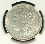 1889-o Vam 1a1 Ngc Au53 Morgan Silver Dollargene L Henry Legacy Collection 001