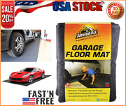 Armor All Charcoal 17' X 7'4 Garage Floor Mat Protects Surfaces And Waterproof