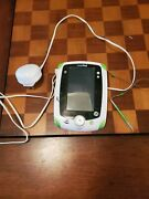 Leap Pad Green And White Tablet Learning Tested With Charger And Stylus