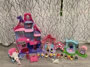 Fisher Price Little People Magical Wand Castle Palace Garden Tea Party Lot