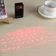 Laser Wireless Bluetooth Virtual Projection Keyboard For Android Apple Pc
