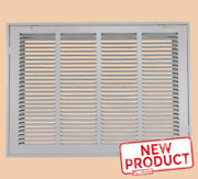 Return Vent Cover 14 Inch X 24 Duct Size Filtered Air Grille Wall Ceiling White