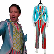 Mary Poppins Returns Jack Royal Doulton Bowl Suit Cosplay Costume Uniform Outfit