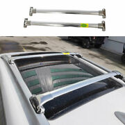Car Top Roof Cargo Rack Cross Bars Fit For Jeep Cherokee 2014-2020 Silver Steel