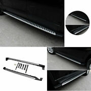 Fit For Jeep Cherokee 14-20 Silver Aluminum Side Running Board Nerf Bar Protect
