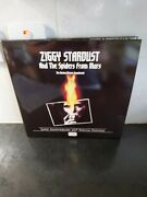 David Bowie Ziggy Stardust The Motion Picture Uk Numbered Red Lp Poster Mint 660