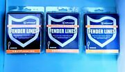 3pk Deal Lot Attwood 1/4 In X 5 Foot Double Braided Spliced End Fender Lines