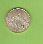 C36. Quality 1914 Australian Sterling Silver Florin Two Shilling Coin